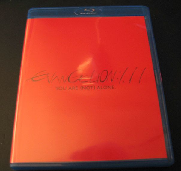 Evangelion: 1.11 - YOU ARE (NOT) ALONE Italian Edition BD case picture